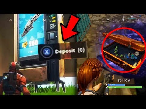 Top 5 Hidden Fortnite Easter Eggs YOU DIDNT KNOW Vending Machine