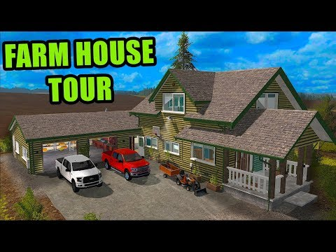 MR. SQUAD'S HOUSE TOUR & NEW F-150 FOR THE FARM | SATURDAY MORNIN FARMING | FARMING SIMULATOR 2017