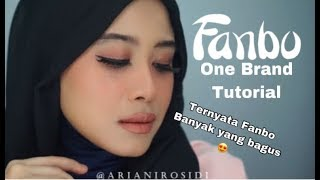 FANBO ONE BRAND MAKEUP TUTORIAL