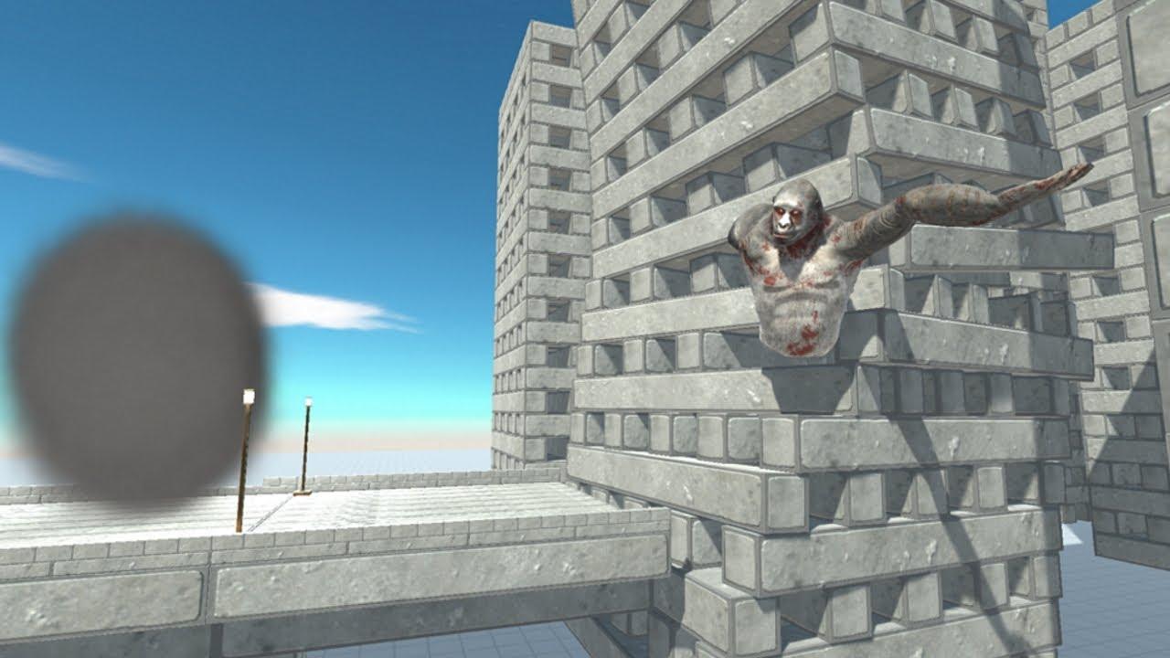 CROSSBOW GOD explodes ALL UNITS into Wobbly Buildings Animal Revolt Battle Simulator