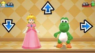 Mario Party 9 - Garden Battle (Peach vs Yoshi) | MarioGamers