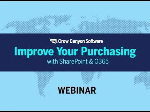 SharePoint or Office 365 Purchase Order System- Crow Canyon