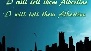 Brooke Fraser - Albertine - Lyric Video
