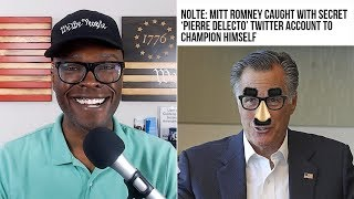 """Mitt Romney Has Alter-Ego """"PIERRE DELECTO"""" On Twitter - But WHY?"""