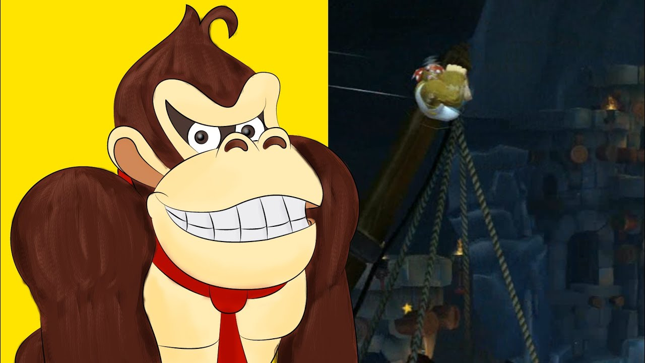Donkey Kong Country Tropical Freeze (Switch) Dynamite Dash