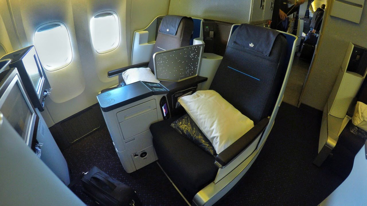 Flight Report Klm Boeing 777 New World Business Class