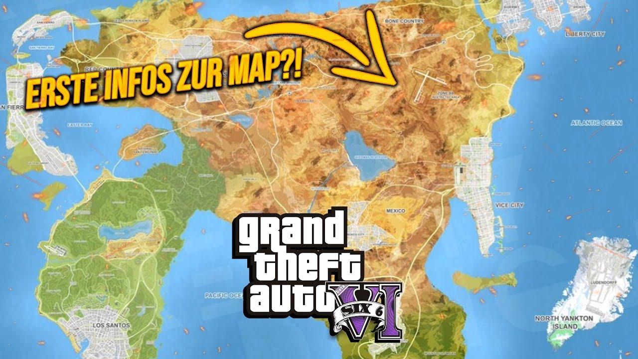 Gta 6 Erstes Bild Zur Map Und Infos Zum Charakter Youtube