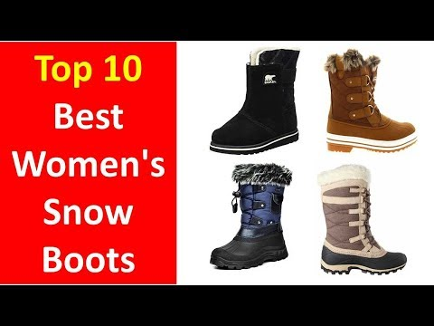 Best Snow Boots For Women Review    Best Winter Boots for Women 2017-2018