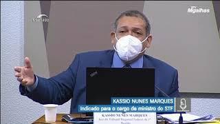 Kassio Nunes fala sobre prisão em 2ª instância