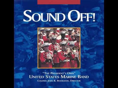 """PROKOFIEV March, Opus 99 - """"The President's Own"""" U.S. Marine Band"""