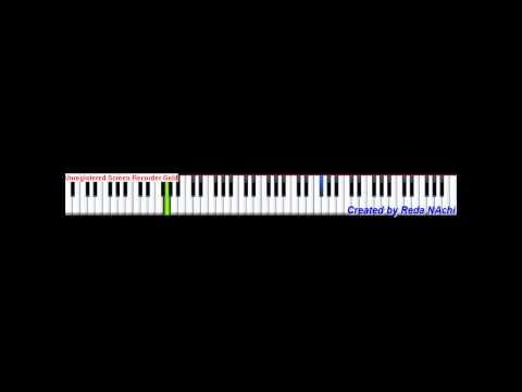 Piano Tutorial Waka Waka