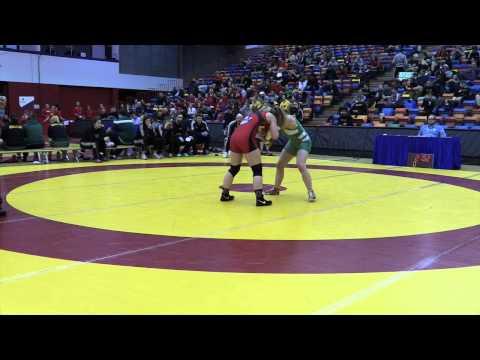 2015 Canada West Championships: 55 kg Emily Kessler vs. Laryssa Barry