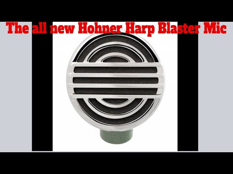 The All New Hohner Harp Blaster Bullet Microphone