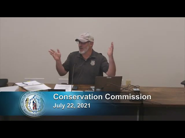Conservation Commission 7-22-21