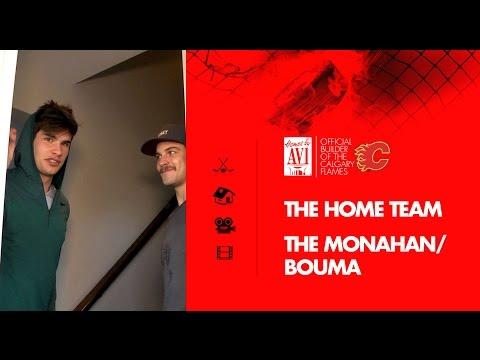 Homes by Avi & the Calgary Flames: Monahan and Bouma take us on a tour of their home