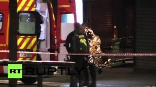 France: 2 dead, 5 injured as police raid Saint-Denis for prime suspect of Paris attacks