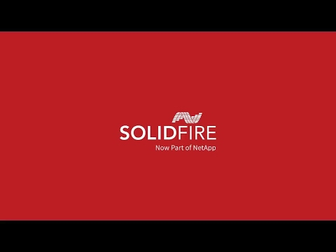 Intro to Utilizing SolidFire in the Public Sector