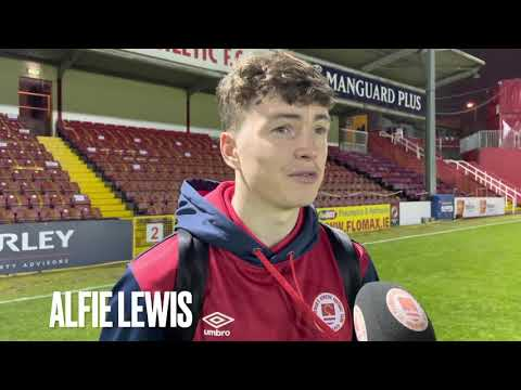 Alfie Lewis On Full Debut