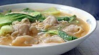 Wonton Noodle Soup- Recipe