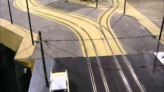 O SCALE TROLLEY LAYOUT - ELECTRIC TRACTION