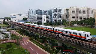 [First Video Of EWL] SMRT East West Line Trainspotting At EW1 Pasir Ris  (1/2)
