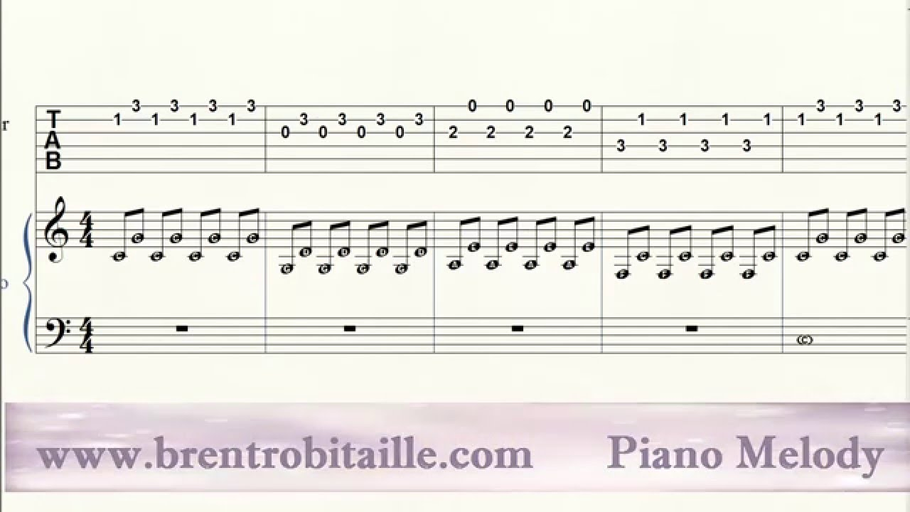Piano guitar tab duet stereo madness youtube piano guitar tab duet stereo madness hexwebz Image collections