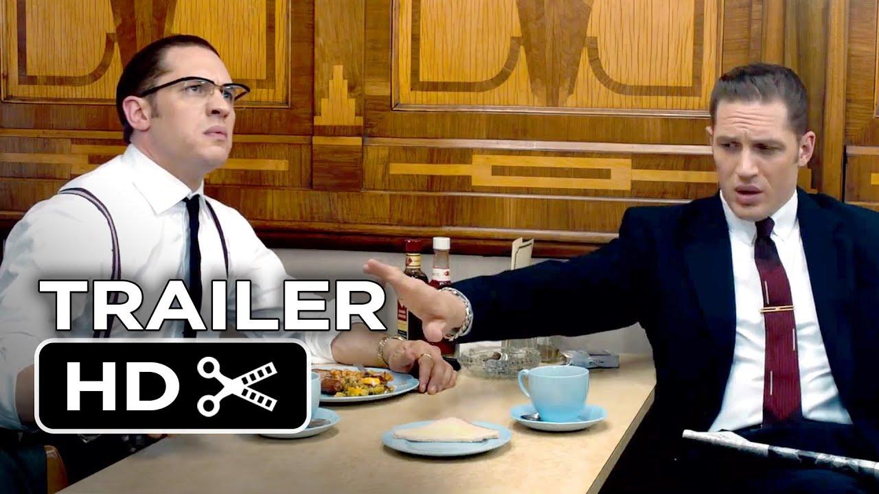 画像: Legend Official Trailer #1 (2015) - Tom Hardy, Emily Browning Movie HD youtu.be
