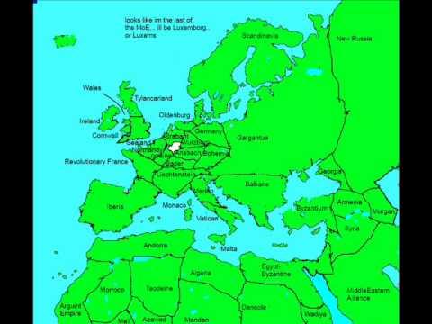 Alternate Series- The Future Of Europe Part 8 (AncientFuture-Microstates)