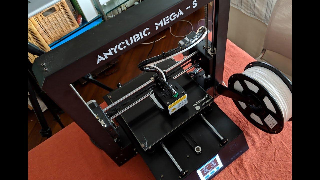 Anycubic Mega-S & i3 Mega Firmware Update
