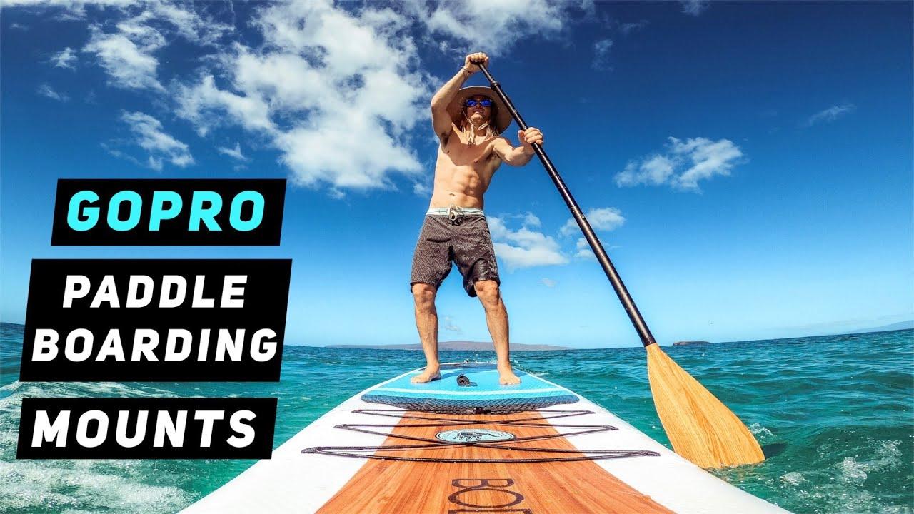 BEST GoPro Mounts For Paddle boarding - GoPro Tip #675 | MicBergsma
