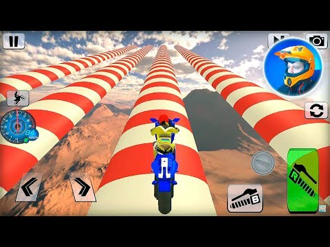 Bike Impossible Tracks Race: 3D Motorcycle Stunts Games