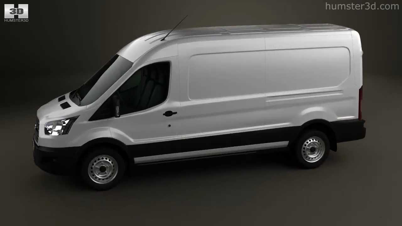 Ford transit panel van lwb 2012 by 3d model store humster3d com