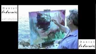 DANIEL CODORNIU pinta ES MIRADOR D'ES PONTÀS (Mallorca, Agost 2005)