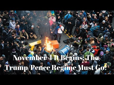 Antifa Plan Civil War To Overthrow the Government On Nov  4, 2017