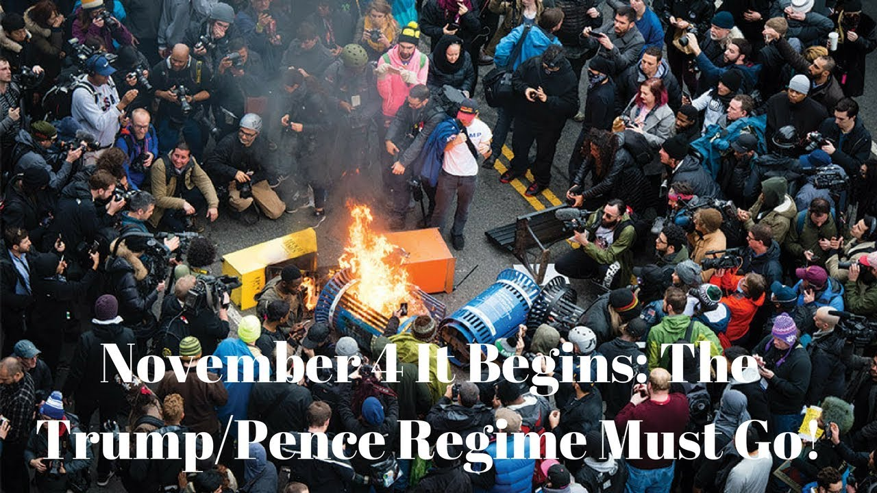 Image result for pics of november 4, 2017 call to riot across america