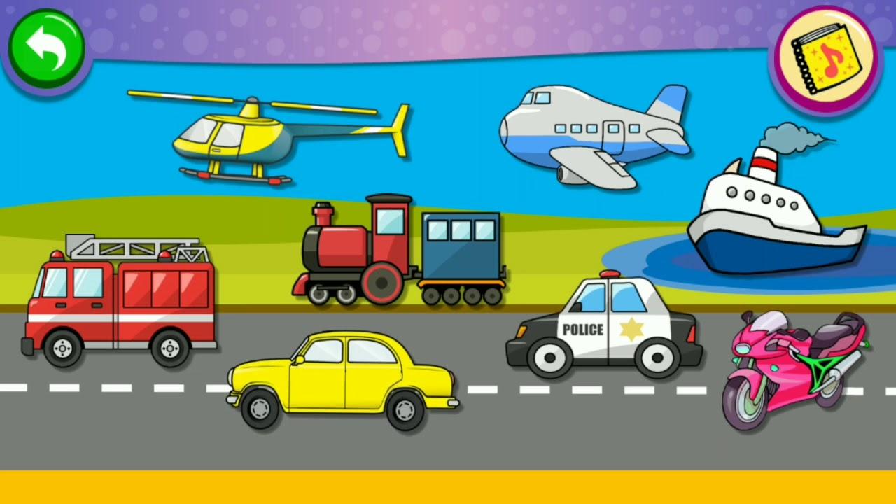 46 Gambar Karikatur Alat Transportasi Karitur