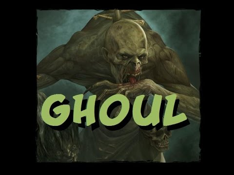 Monster Ecology: Ghoul