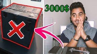 اشتريت الصندوق العشوائي بقيمة 3000 دولار | انصدمت من الاشياء اللي داخلة😱