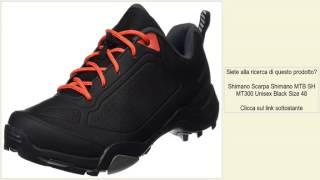 Shimano Scarpa Shimano MTB SH MT300 Unisex Black Size 48