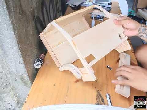 Merakit Kabin Miniatur Truk Kayu Miniatur Trukkayu Membuatkabin Youtube