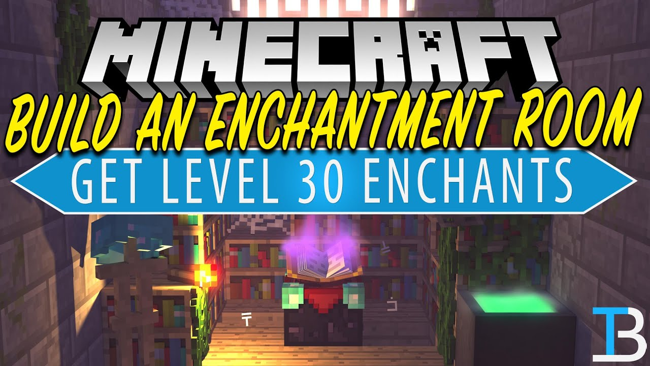 How To Build An Enchantment Room in Minecraft 28.2828.28