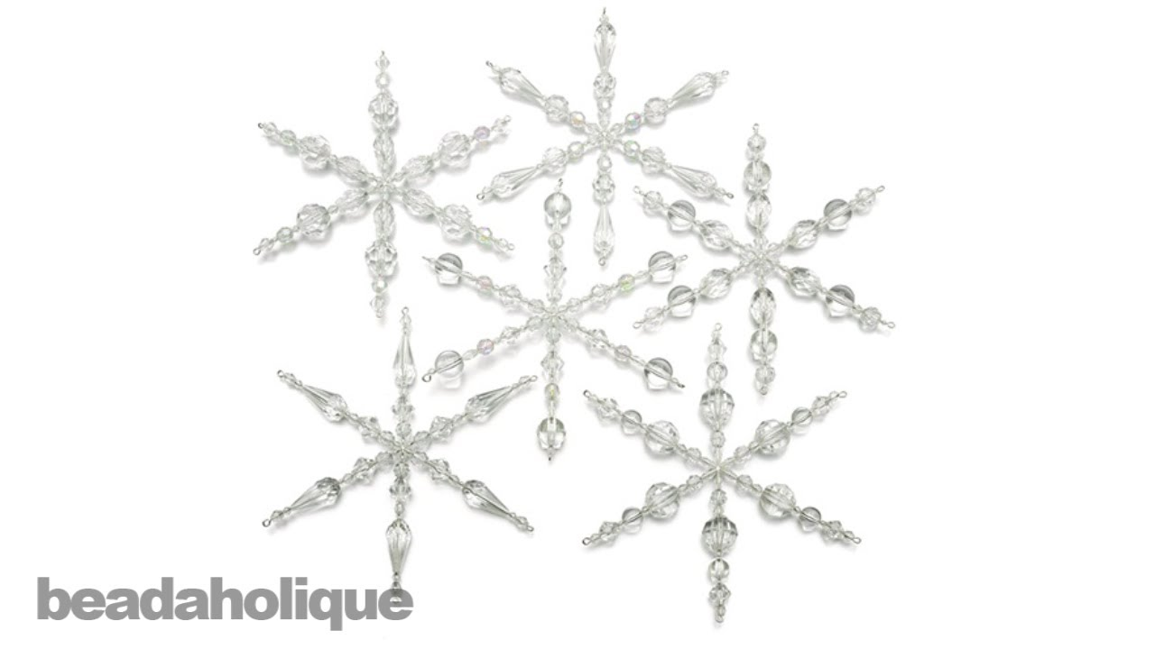 how to make a snowflake instructions