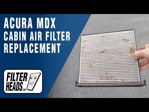 How to Replace Cabin Air Filter 2008 Acura MDX