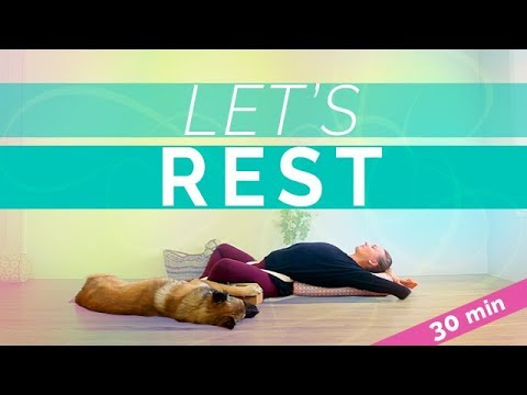 Restorative Yoga for Lower Back Pain (30-min) Relaxing Yin ...