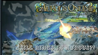 """ lvl85 Secret Skill Rings in Aurcus?! "" - [ AURCUS ONLINE ] - /// GUARDIAN VS WIZARD, ARCHER \\\"