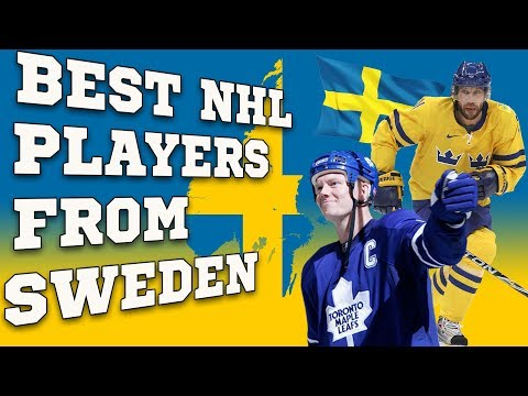 Top 10 Best NHL players from Sweden! (All Time)