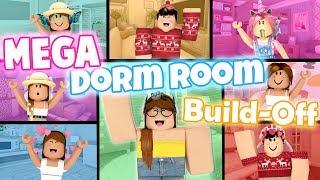 MEGA Dorm Room Build-Off! Panda V.s. 7 Fans!!