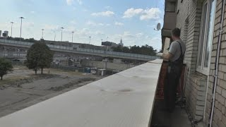 Жөндеу тар г-бейнелі балконды А-дан Я-ға дейін - (от АРС-Балкон)