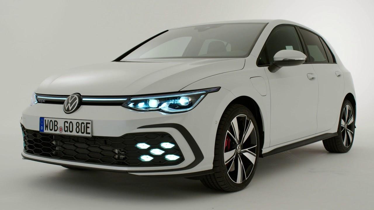 New Volkswagen Golf 8 Gte 2020 First Look Exterior Interior 245 Hp Plug In Hybrid Youtube