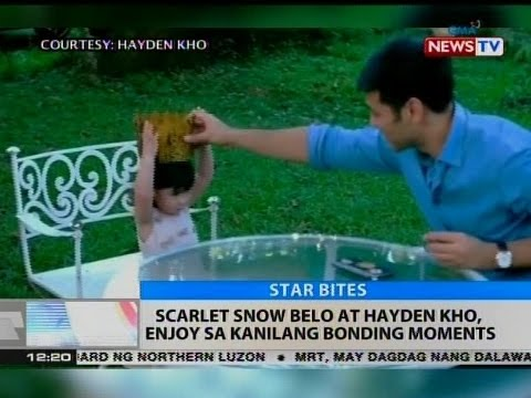 BT: Scarlet Snow Belo at Hatden Kho, enjoy sa kanilang bonding moments